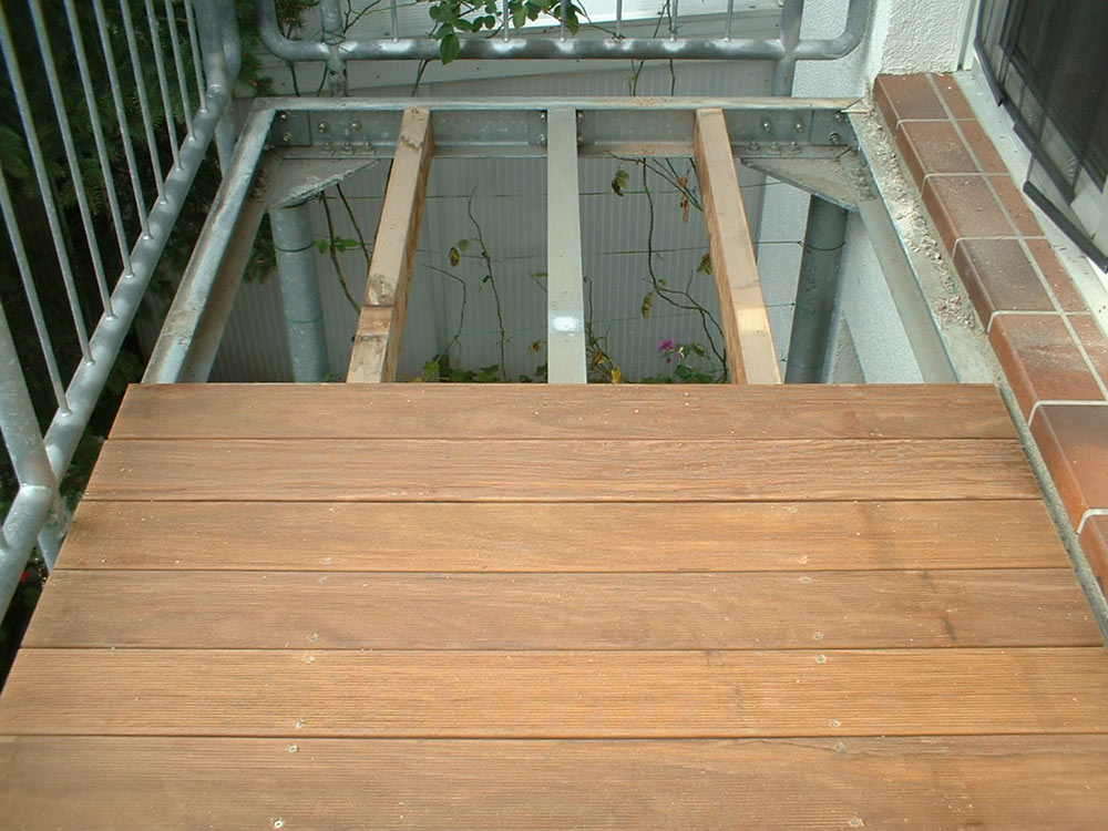 Balkon Dielen Holz Verlegen ~ Terrasse Und Balkon Pictures to pin on Pinterest