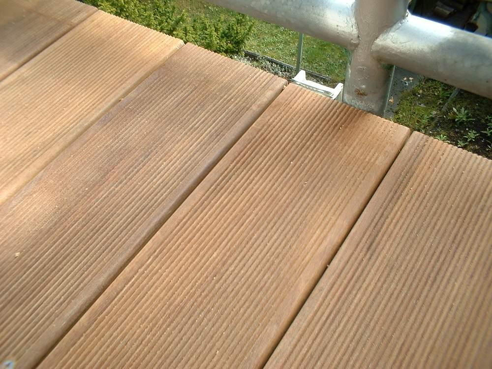 Holzbelag für Terrasse und Balkon - Gemo-Service